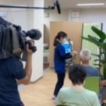 当院の職員、芦川さんがNHK静岡で放送されます。
